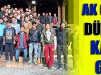 AK Gençlik Ortahisar Ekibi Düzköy'de Kampa Girdi..