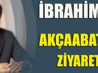 İBRAHİM TAŞEL AKÇAABAT FİNAL'İ ZİYARET ETTİ