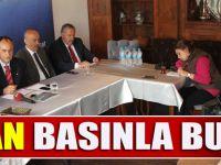 Belediye Başkanı Türkmen Basın Mensuplarıyla Kahvaltıda Bir Araya Geldi.