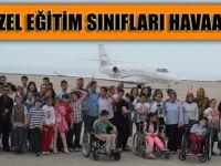 Akçaabat Özel Eğitim Sınıfları Havaalanını Gezdi.