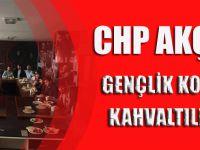 CHP AKÇAABAT GENÇLİK KOLLARINDAN KAHVALTILI TOPLANTI