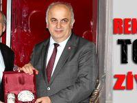KTÜ Rektörü Süleyman Baykal Yardımcıları İle TGC'yi Ziyaret Etti