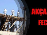 Akçaabat'ta Elektrik Akımına Kapılan İşçi Öldü!