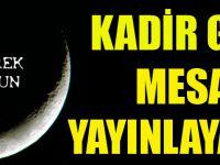 Kadir Gecesi Kutlama Mesajı Yayınlayanlar