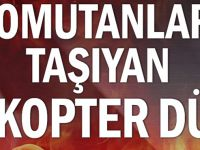Giresun'da Askeri Helikopter Düştü 7 Şehit, 8 Yaralı