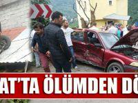 Akçaabat'ta Yaşanan Trafik Kazasında 10 Kişi Yaralandı