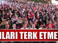"""Başkan Gümrükçüoğlu """" Meydanları Terk Etmeyeceğiz """""""
