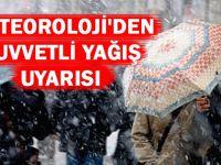 Meteoroloji'den Doğu Karadeniz İçin Kuvvetli Yağış Uyarısı.