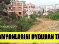 Büyükşehir Belediyesi, Hafriyat Kamyonlarını Uydudan Takip Edecek