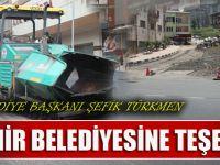 Akçaabat Belediyesi İle Trabzon Büyükşehir Belediyesinin Ortaklaşa Çalışmaları Devam Ediyor.