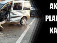 AKÇAABAT plakalı araç kaza yaptı: 1 ölü 3 yaralı