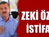 Zeki Öztürk Resmen İstifa Etti.