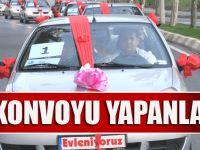 Trabzon'da Düğün Konvoyu Yapanlar Dikkat...