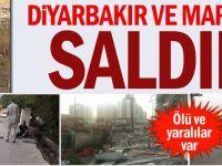 Mardin ve Diyarbakır'da Saldırı
