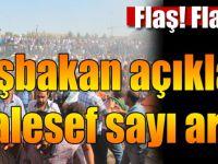 Başbakan Yıldırım Açıkladı: Elazığ'daki Patlamada 3 Şehit, 217 Yaralı Var