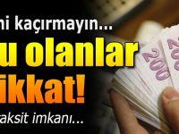 SGK Borçlarına 36 Aya Varan Taksit İmkanı