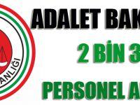 Adalet Bakanlığı 2 Bin 371 Personel Alacak!