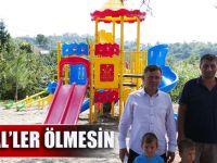 Trabzon Büyükşehir Belediyesi, Kireçhane Mahallesi'nin Oyun Parkı İhtiyacını Karşıladı