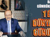 Başkan Gümrükçüoğlu'ndan 1 Eylül Dünya Barış Günü mesajı