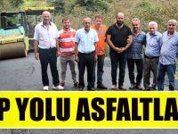 Yaylacık-Çubuklu Grup Yolu Büyükşehir Belediyesi Tarafından Asfaltlandı