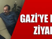AK Parti Trabzon Milletvekili Muhammet Balta, Çukurca'da Yaralanan Askeri Evinde Ziyaret Etti