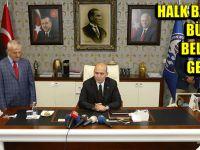 Halk Bayramlaşması Büyükşehir Belediyesinde Gerçekleştirildi