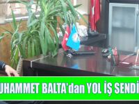 Milletvekili Muhammet Balta'dan Yol İş Sendikasına Ziyaret!