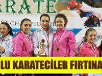 Bayan Karatecilerimiz Milli Takımımızı Başarıyla Temsil Etti