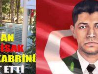 Başkan Necati İsak ,Şehit Ömer Halisdemir'in Kabrini Ziyaret Etti.