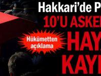 Hakkâri'de PKK Terörü: 10'u Asker 18 Kişi Hayatını Kaybetti