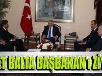 Muhammet Balta Başbakan Binali Yıldırım'a Ziyarette Bulundu
