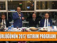 TİSKİ Genel Müdürlüğünün 2017 Yatırım Programı Masaya Yatırıldı