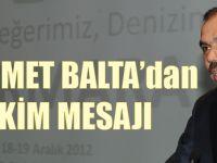 Muhammet Balta'dan 29 Ekim Mesajı!