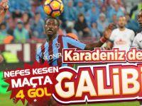 Trabzonspor İle Çaykur Rizespor 2-2 Berabere Kaldı.
