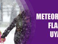 Meteoroloji'den Flaş Kar Uyarısı