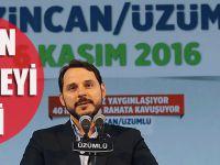 Bakan Albayrak'tan Doğalgaz Müjdesi Geldi! 2018'de...