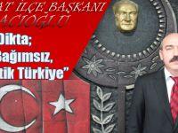 CHP Akçaabat İlçe Başkanı Musa Hacıoğlu Basın Açıklaması Düzenledi