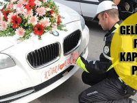 Gelin Aracının Plakasını Kapatan Damada Para Cezası