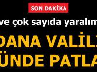 Adana Valiliği Önünde Patlama! Şehit Ve Çok Sayıda Yaralı Var...