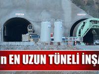 Avrupa'nın En Uzun Tüneli İnşa Ediliyor