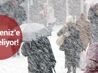 Doğu Karadeniz İçin Kar Uyarısı