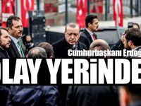 Cumhurbaşkanı Erdoğan Hain Saldırının Gerçekleştiği Olay Yerinde İnceleme Yaptı