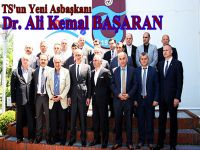 Trabzonspor'da Yeni Yönetim  Görev Dağılımını Yaptı.