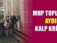 MHP Trabzon Toplantısında Aydın Teke Kalp Krizi Geçirdi