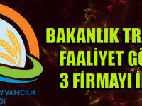 Bakanlık Trabzon'da Faaliyet Gösteren 3 Firmayı İfşa Etti.