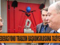 Trabzon Heyeti Rusya Federasyonu Trabzon Başkonsolosuna Taziye Ziyaretinde Bulundu