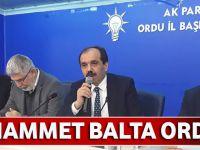 Ak Parti Trabzon Milletvekili Muhammet Balta Ordu'da Belediye Meclis Üyelerine Seslendi!
