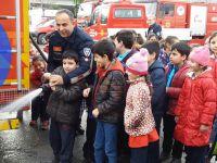 Zehra Kitapçıoğlu İlkokulu Öğrencileri İtfaiye Teşkilatını İnceledi