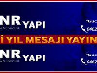 Akçaabat GNR YAPI'dan Yeni Yıl Mesajı