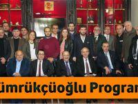 Başkan Gümrükçüoğlu TGC'nin Salih Çamoğlu Sohbetleri Programına Katıldı
